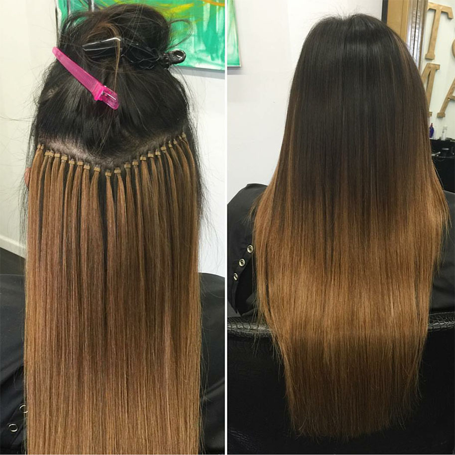 Micro loop hair extensions stush hair extensions clip in tape in weft and fusion hair extensions toronto montreal new york pmusecretfo Images